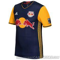 New York Red Bulls Away adidas Jersey 2016 Uniformes De Futbol 2fc9741e2ddcb