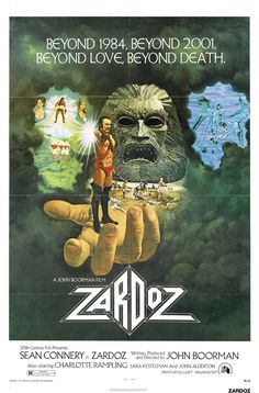 """John Boorman's """"Zardoz"""" (1974).  Ultimately this is a ludicrous film, but ludicrous in such a wonderful way."""