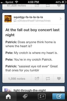 Pete and Patrick
