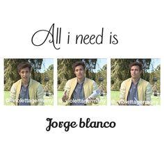 #Violetta #JorgeBlanco