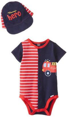 Gerber Baby-Boys Newborn 2 Piece Set Creeper with Hat, Hero, 0-3 Months Gerber http://www.amazon.com/dp/B00HGAOYV8/ref=cm_sw_r_pi_dp_1R3.tb17VF858