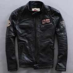 81 Best Leather jackets images  b8a0e0bbebf
