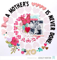 A Mother's Love Is Never Done by ashleyhorton1675 at @studio_calico