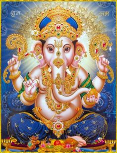 Make this Ganesha Chathurthi 2020 special with rituals and ceremonies. Lord Ganesha is a powerful god that removes Hurdles, grants Wealth, Knowledge & Wisdom. Jai Ganesh, Ganesh Lord, Shree Ganesh, Lord Shiva, Ganesha Tattoo, Ganesha Art, Shiva Art, Hindu Art, Indian Gods