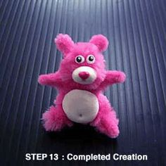 Garie's Clay Creations: How to create a cute furry teddy bear using polymer clay and pipe cleaner