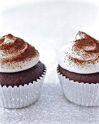 Devil's Food Cupcakes with Espresso Meringue Recipe on Food & Wine