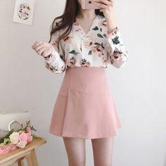 Trendy ideas for casual teen fashion 193 Casual Teen Fashion, Korean Girl Fashion, Korean Fashion Trends, Korean Street Fashion, Ulzzang Fashion, Japanese Fashion, Asian Fashion, Korean Fashion Pastel, Kawaii Fashion