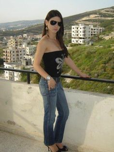 Stylish Lebanese Beauty Picture