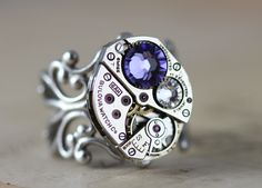 Steampunk Ring Giveaway from Inspired by Elizabeth