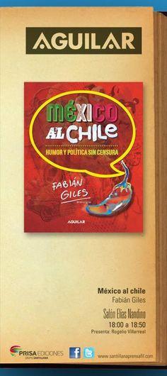 Presentación de México al chile en la FIL Guadalajara