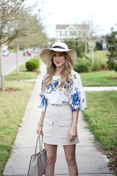 Nothing better than a spring sunhat