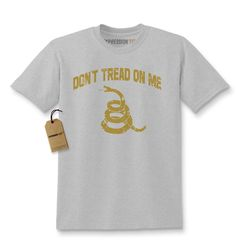 Vintage Don't Tread On Me Rattlesnake Gadsden Kids T-shirt