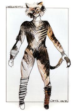 Original costume design - John Napier 1981