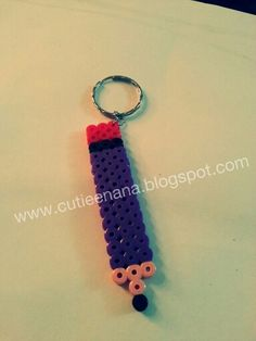 Pencil key chain