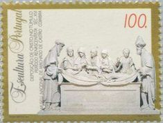 Sello: Sculptures (Portugal) (Sculptures) Mi:PT 2024,Sn:PT 2004,Yt:PT 2002,Afi:PT 2222