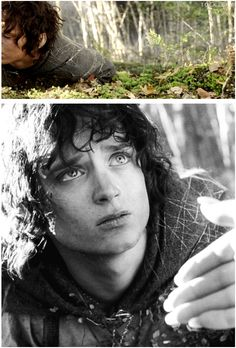 Those eyes. Would like to do this in pencil I think. Frodo Baggins, The Lord of the Rings