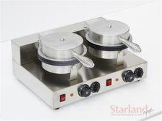Double Heads Waffle Machine Stainless Steel Crispy Pancake Maker #Affiliate