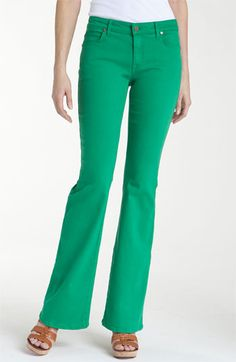 CJ by Cookie Johnson 'Grace' Bootcut Stretch Jeans- love the color!