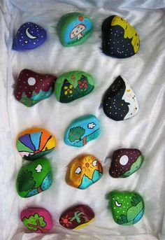 something I need to do with my oldest, she loves collecting rocks!