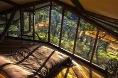 Dream Cabin Loft at Wollemi Cabins, Blue Mountains, Australia. Photo: Jochen Spencer