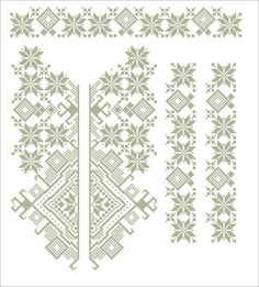 Gallery.ru / Фото #43 - схемы для вышиванок - zhivushaya