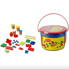 Simba Toys > 3y+ > Art and Fun Soft Clay Work Station - 16 Pcs | Shop Online