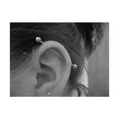 Tumblr ❤ liked on Polyvore featuring piercings, earrings, tattoos & piercings and tattoos and piercings