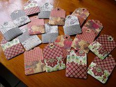 Crafty Sandra's blog: Pocket Tags