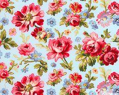 Penelope - Luscious Blossom - Powder Blue