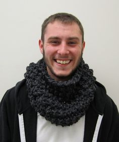 The perfect knit man cowl for that special guy in your life!  ***Please note this cowl is currently taking 2-3 weeks to ship**This stunning cowl is a