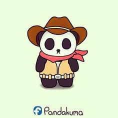 Cowboy panda.