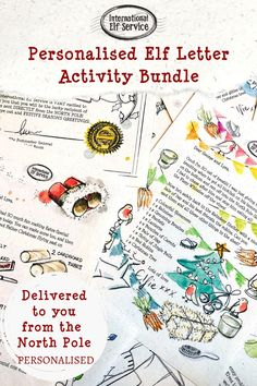 The ultimate activities bundle to keep your kids occupied over the festive period. 7 handcrafted, personalised Christmas Elf Letters sparkling with magic. Let the fun commence! Christmas Crafts To Make, Christmas Activities For Kids, Fun Activities To Do, Rainy Day Activities, Letter Activities, Magical Christmas, Great Christmas Gifts, Christmas Elf, Christmas Colors