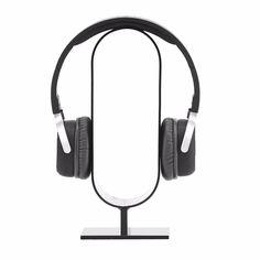 Acrylic Headphone Headset Earphone Showing Stand Desk Hanger Holder Display Rack