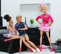 WEBSTA @ lookstyledolls - #Barbie #BarbieStyle