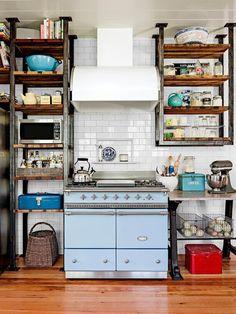 Alacenas abiertas Open kitchen storage