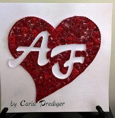 Carla Prediger: Monogramas & Coração