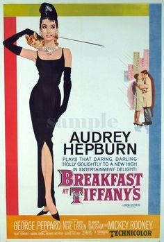Movie Vintage Poster  Audrey Hepburn  Canvas print by GreatHome