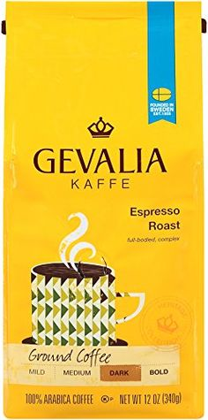 Gevalia Espresso Roast Ground Coffee 12 oz *** Details can be found by clicking on the image.