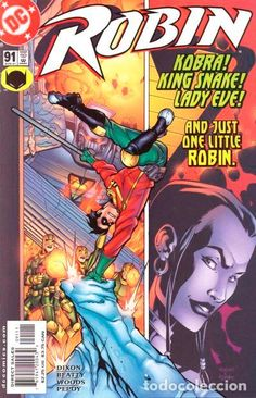 ROBIN #91, DC COMICS, 2.001, USA.