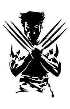 Wolverine Silhouette X Men Vinyl Decal Sticker BallzBeatz . Wolverine Tattoo, Wolverine Art, Logan Wolverine, Logan Xmen, Marvel Art, Marvel Comics, X Men, Witcher Wallpaper, Arte Game Of Thrones