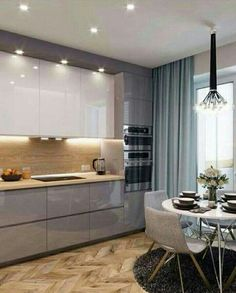 This Two Toned Brilliant Kitchen Is Gorgeous Use This As