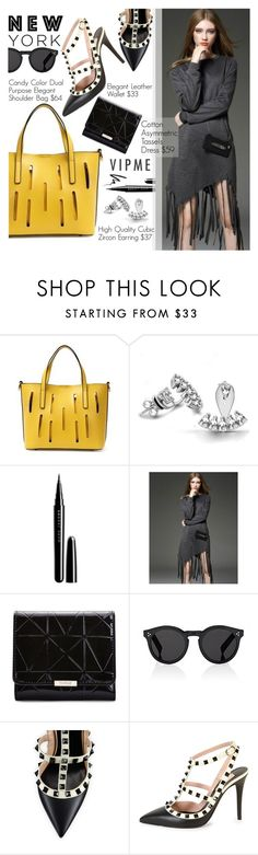 """New York Fashion Week"" by pokadoll ❤ liked on Polyvore featuring Marc Jacobs, Illesteva, Valentino, Stila, women's clothing, women, female, woman, misses and juniors"