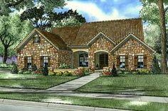 House Plan 17-156.2135 sq ft. Needs 3rd garage. da