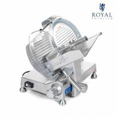 Die Aufschnittmaschine RCAM 250EXPERT aus der Expert Serie von Royal Catering wurde für den professionellen Einsatz konzipiert. Die Aufschnittmaschine ist aus hochwertigem, eloxiertem Aluminium gefertigt und daher wirksam vor...