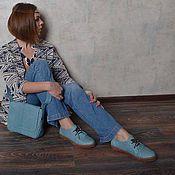 Обувь ручной работы. Ярмарка Мастеров - ручная работа Кеды из кожи питона в наличии. Handmade.