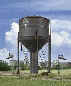 Cornerstone Series(R) Built-Ups -- Steel Water Tank (933-2832) -- Walthers Model Railroading