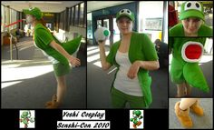Yoshi Cosplay by redstreak