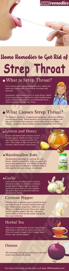 Relying on home remedies to get rid of strep throat is not only safe but also effective