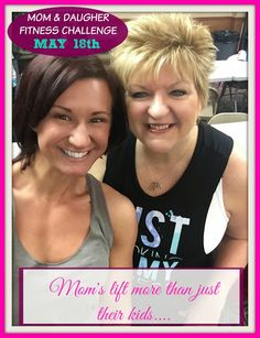 Being a role model is important for our families right? But one thing I have gained in my own journey is being able to bring my mother on it with me! As our family struggles with weight and health issues, I knew that helping my mother was at the VERY top of my list!! I was working as a fitness coach for 2.5 years now, it took me 2 years to really get her involved... YES, this was on HER time, not mine! #mom #daughter #fitness