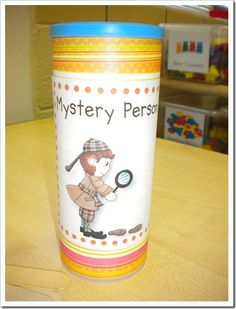 Classroom Management/ Reward Idea - pick a stick and class doesn't know who that person is until the end of the day. If that person behaved in line, listened and followed directions in class with few warnings, they get a reward. If the mystery person doesn't behave their name goes back into the container.